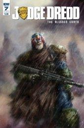 Judge Dredd: Blessed Earth #7 Cover B Percival