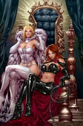Giant-Size X-Men: Jean Grey and Emma Frost #1 Unknown Comics Exclusive C2E2 Hellfire Virgin DX Variant Edition