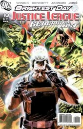 Justice League: Generation Lost #10 Variant Edition