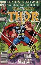 The Mighty Thor #457 Newsstand Edition