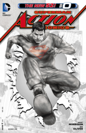 Action Comics #0 Black and White Variant Edition