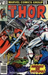 The Mighty Thor #287 Newsstand Edition