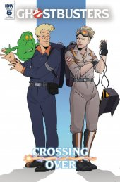 Ghostbusters: Crossing Over #5 1:10 Incentive Variant