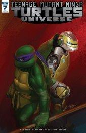 Teenage Mutant Ninja Turtles: Universe #7 1:10 Retailer Incentive Cover