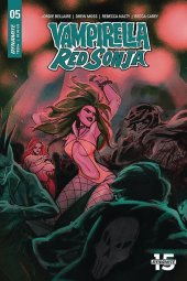 Vampirella / Red Sonja #5 Cover B Tarr