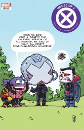House of X #6 Skottie Young Variant