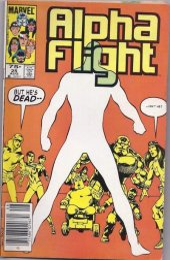 Alpha Flight #25 Canadian Price Edition
