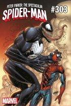 Peter Parker: The Spectacular Spider-Man #303 Liefeld Venom 30th Anniversary Variant