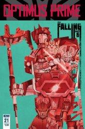 Optimus Prime #21 Cover B