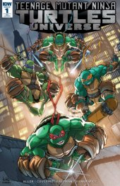 Teenage Mutant Ninja Turtles: Universe #1 Amazing Comic Con Exclusive Variant Cover
