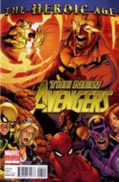 The New Avengers #1 2nd Printing