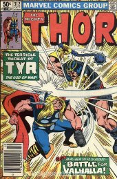 The Mighty Thor #312 Newsstand Edition