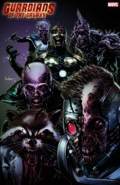 Guardians Of The Galaxy #4 Marvel Zombies Variant