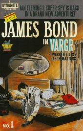 James Bond #1 Midtown Exclusive Robert Hack Retro Novel Variant