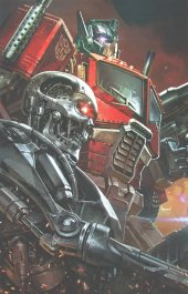 Transformers Vs. Terminator #1 Kael Ngu BTC / Scott