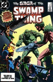 the saga of the swamp thing #24