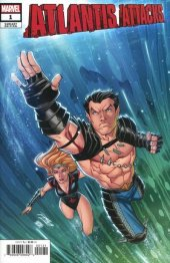 Atlantis Attacks #1 Variant Cover by Ron Lim