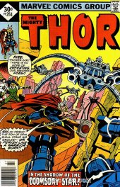 The Mighty Thor #261 Whitman Variant
