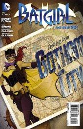 Batgirl #32 Bombshells Variant Edition