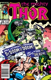 The Mighty Thor #410 Newsstand Edition