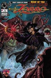 Zorro: Rise of the Old Gods #4 Original Cover