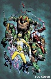 Mighty Morphin Power Rangers / Teenage Mutant Ninja Turtles #2 FOC Variant
