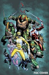 Mighty Morphin Power Rangers / Teenage Mutant Ninja Turtles #2 FOC Variant