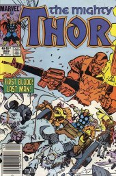 The Mighty Thor #362 Newsstand Edition