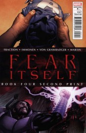 Fear Itself #4 2nd Printing
