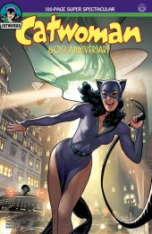 Catwoman 80th Anniversary 100-Page Super Spectacular #1 1940s Variant Cover by Adam Hughes