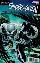 Spider-Gwen #24 Venomized Variant