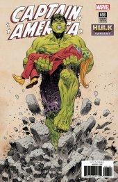 Captain America #698 Evely Hulk Smash Variant