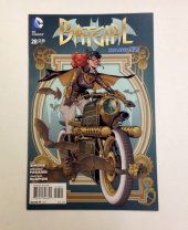 Batgirl #28 J.G Jones Steampunk Variant Cover