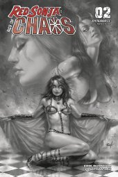 Red Sonja: Age of Chaos #2 1:40 Parrillo B&w Cover