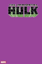 The Immortal Hulk #33 1:200 Purple Blank Variant Edition
