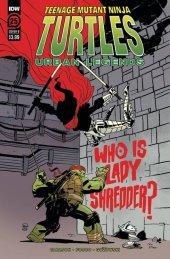 Teenage Mutant Ninja Turtles: Urban Legends #25 Cover B Kuhn