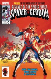 Spider-Geddon #0 Jamal Campbell Secret Wars Homage Variant