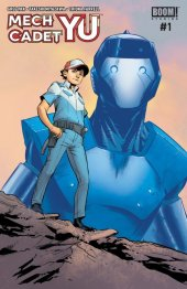 Mech Cadet Yu #1 Cover B Subscription To Connecting