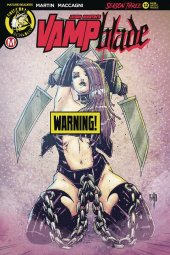 Vampblade: Season 3 #12 Cover D Brao Risque