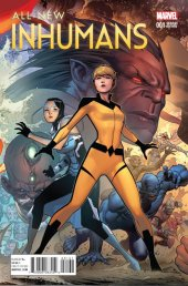 All-New Inhumans #1 Cheung Connecting D Variant