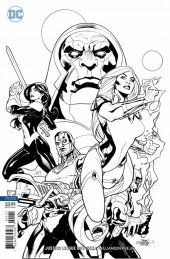 Justice League Odyssey #1 Terry Dodson Black & White Variant Edition