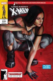 Uncanny X-Men #1 Frankies Comics Exclusive Mike Choi Variant