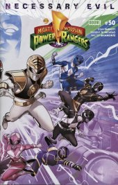 Mighty Morphin Power Rangers #50 Right Side Connecting Variant