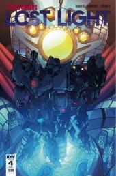 Transformers: Lost Light #4 SUB-B Cover