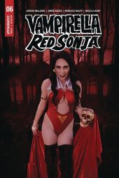 Vampirella / Red Sonja #6 Cover E Cosplay