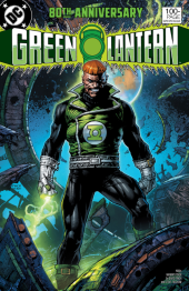 Green Lantern 80th Anniversary 100-Page Super Spectacular #1 1980s Variant Cover by David Finch