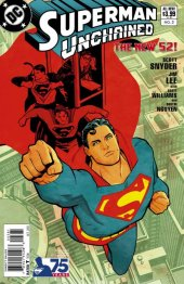 Superman Unchained #3 75th Anniversary Modern Age Cover