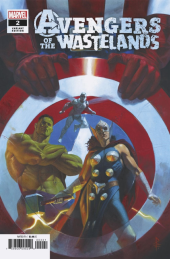 Avengers of the Wastelands #2 1:25 Federici Variant Cover