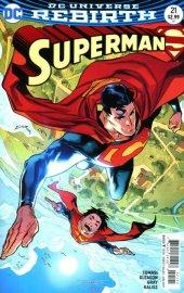 Superman #21 Variant Edition