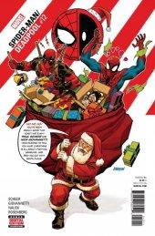 Spider Man Deadpool From Marvel Comics